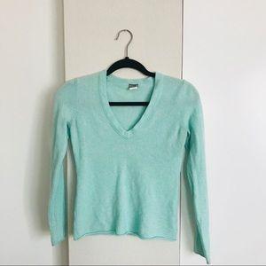 Tiffany blue cashmere sweater